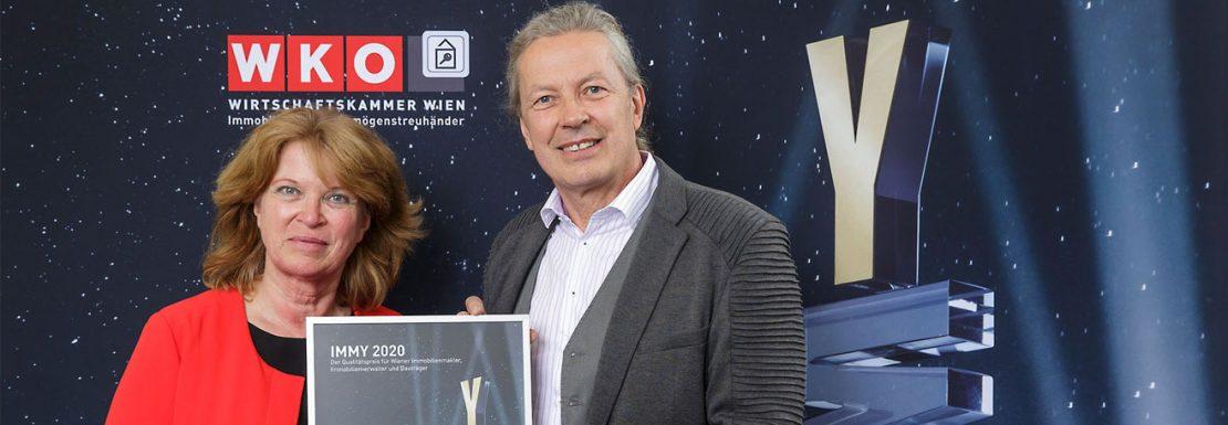 Verleihung des IMMY 2020 Sonderpreises an FLAIR - Beitragsbild